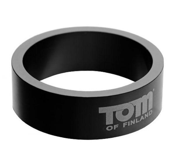 Tom of Finland Aluminium Cock Ring 50mm