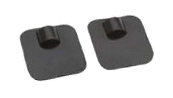 VITAtronic Dauerelektroden 40x40 mm schwarz - (2er Set)