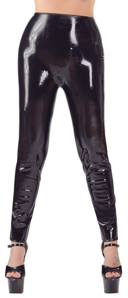 Leggings aus Latex (Frontansicht)