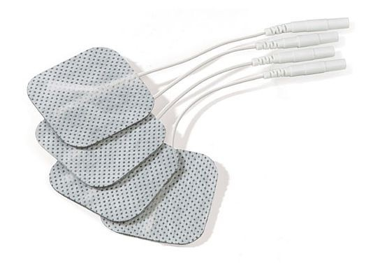 Mystim selbstklebende Elektroden 40x40 mm - 4er Set