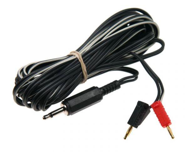 E-Stim Long 2mm auf 3,5mm Kabel (ganze 4m lang)