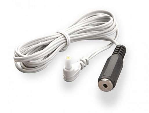 Adapterkabel Mystim-Round-Stecker auf 2,5 mm Klinkenbuchse