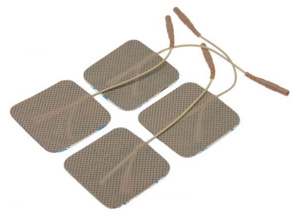 E-Stim Standard Elektroden, selbstklebend (4er Pack)