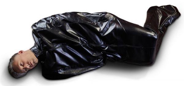 Sleeping Bag aus Lederimitat
