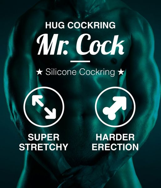 Mr. Cock Hug Silicone Cockring Merkmale