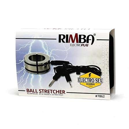 Rimba Elektro-Sex Hodenstrecker mit Schließungsringen