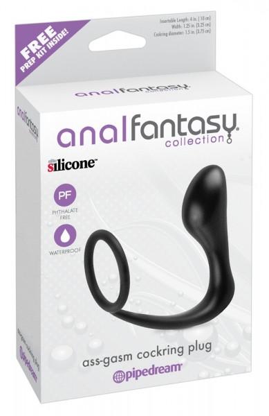 analfantasy Penisring mit Analplug (Verpackung)