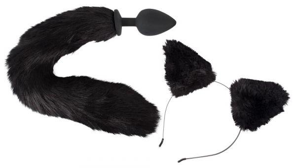 "Analplug ""Pet Play Plug & Ears"" (Lieferumfang)"