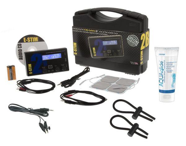 E-Stim 2B Pro Plus Pack (mit umfangreichem Zubehör)