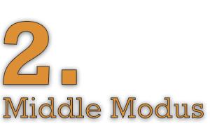 2. Middle Modus