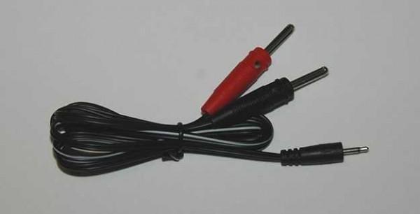 Adapterkabel von 2,5 mm Klinkenstecker -> 4 mm Stecker
