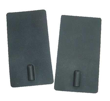 VITAtronic Dauerelektroden schwarz 50x90 mm - (2er Set)