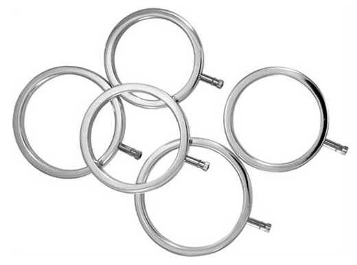ElectraStim Rings - Cock Ring Set (5er Pack)